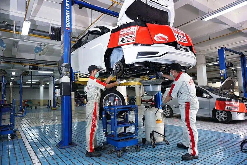 Penasaran Biaya Servis Toyota GR Sport Setelah 50.000 Km? Cek Daftarnya